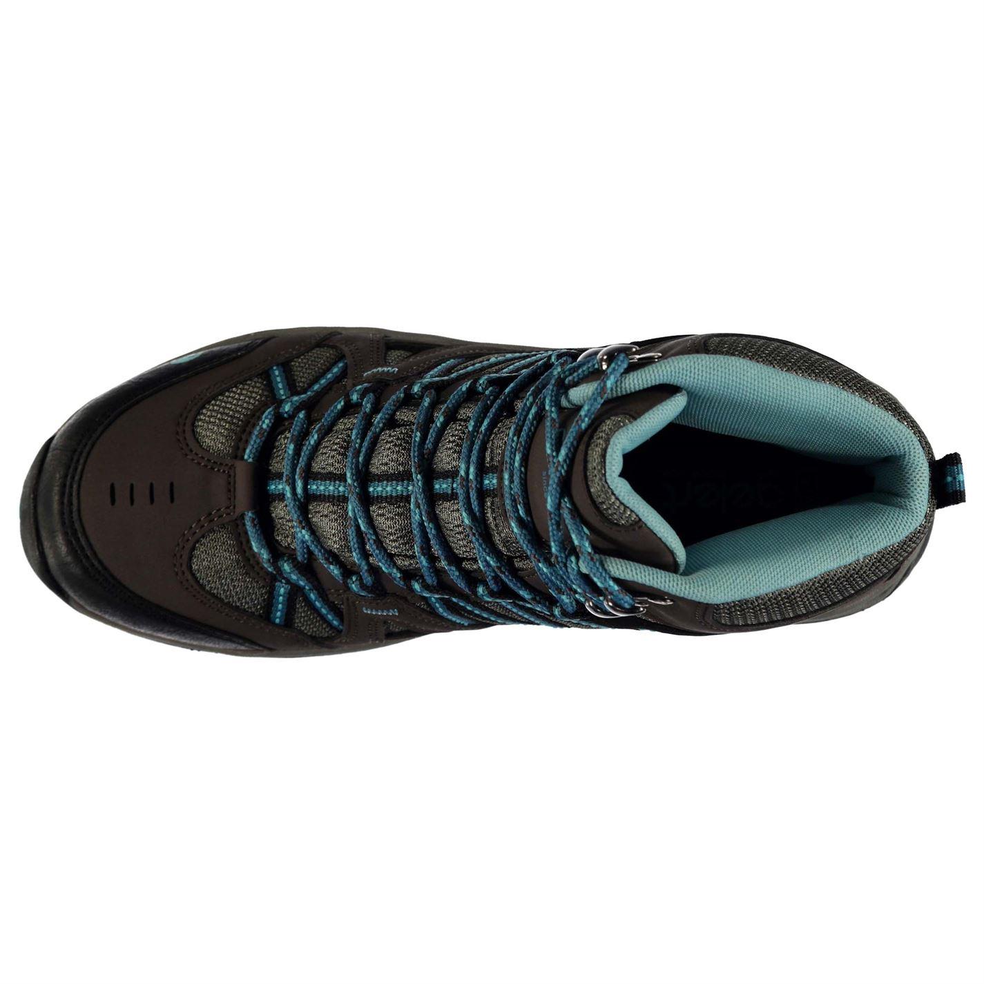 Gelert Femmes Ottawa Mi Walking Boots Lacets fixé Chaussures Outdoor Chaussures
