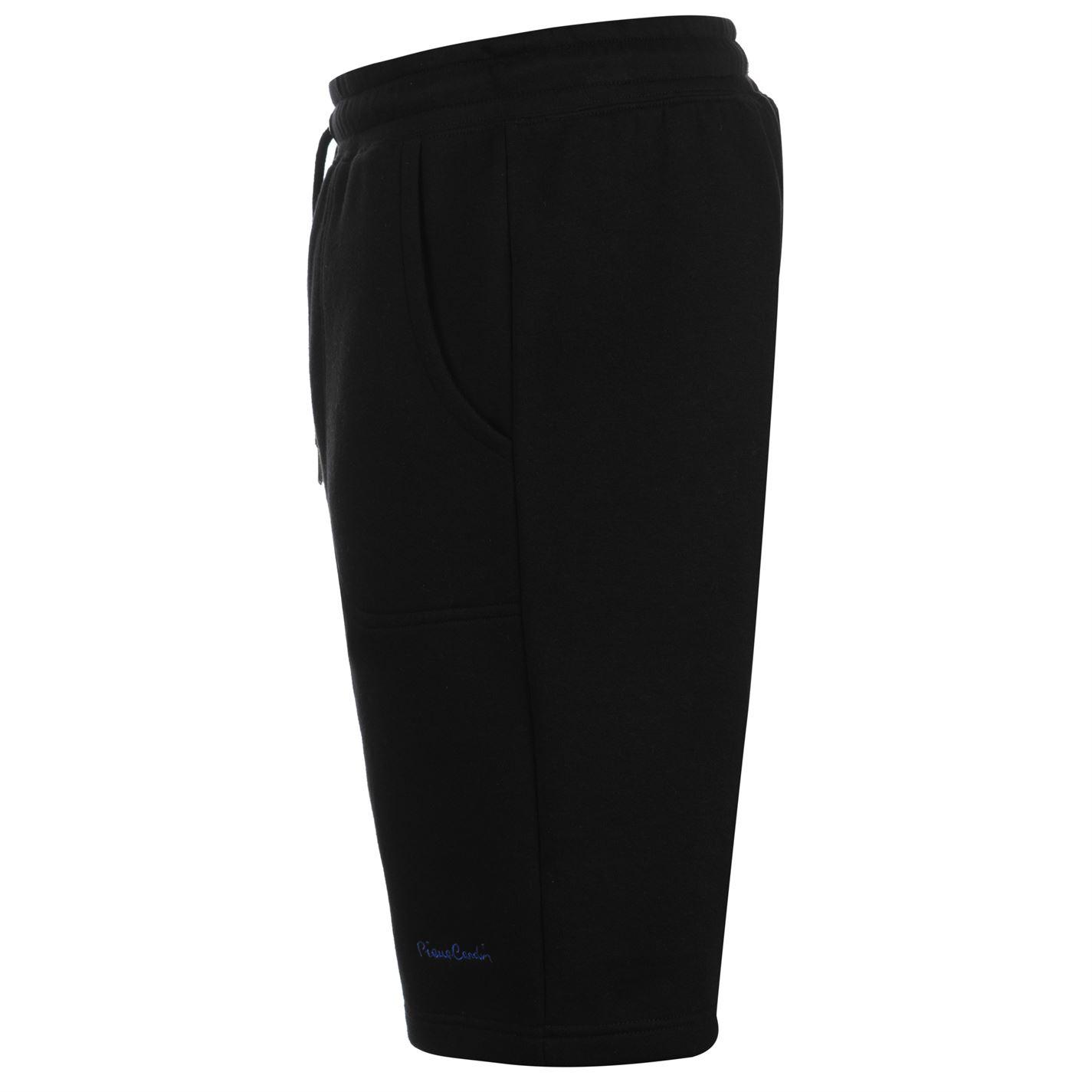 Pierre Cardin Mens C Solid Short Fleece Shorts Pants Trousers Bottoms