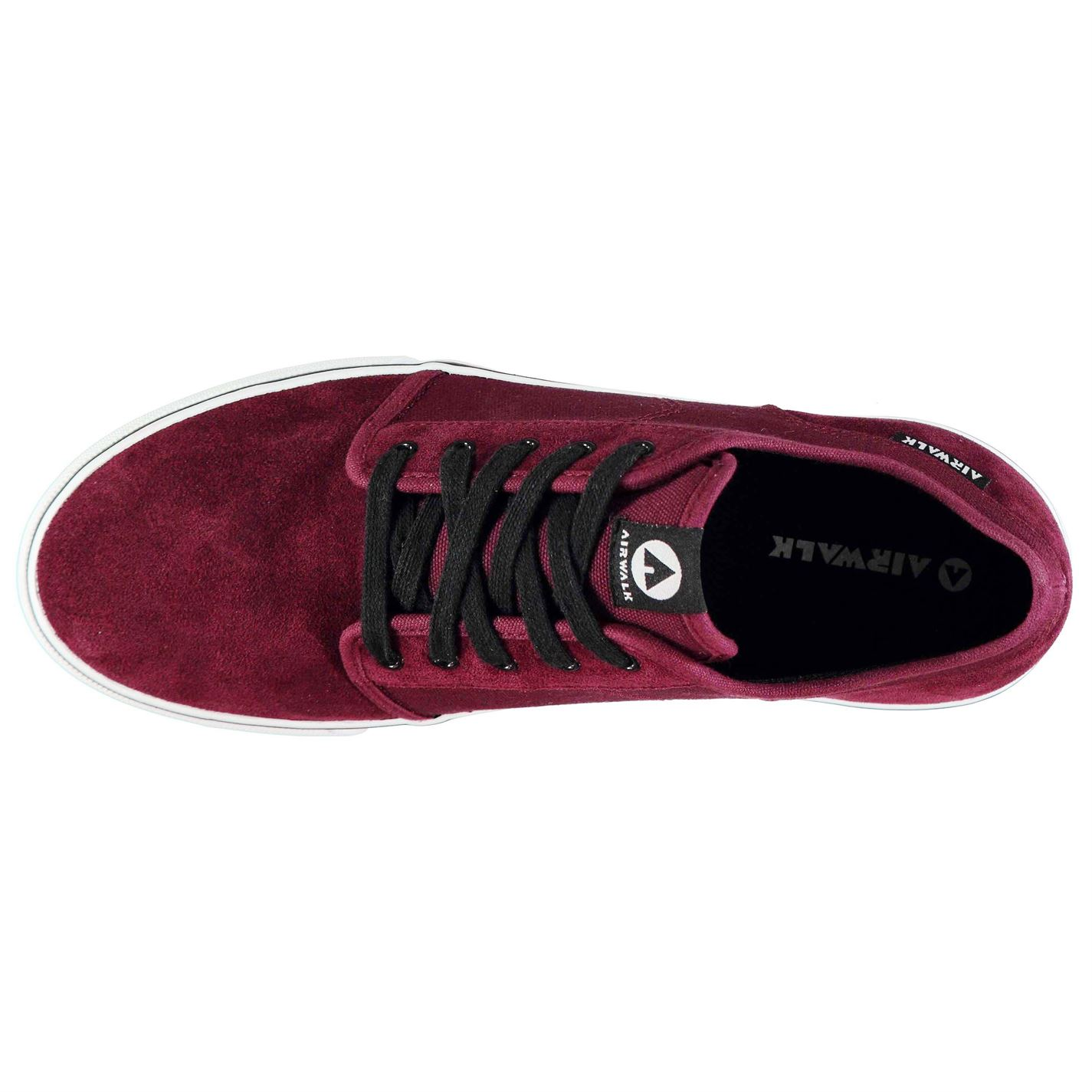 Airwalk Tempo 2 Skate Shoes Mens Gents Laces Fastened Suede