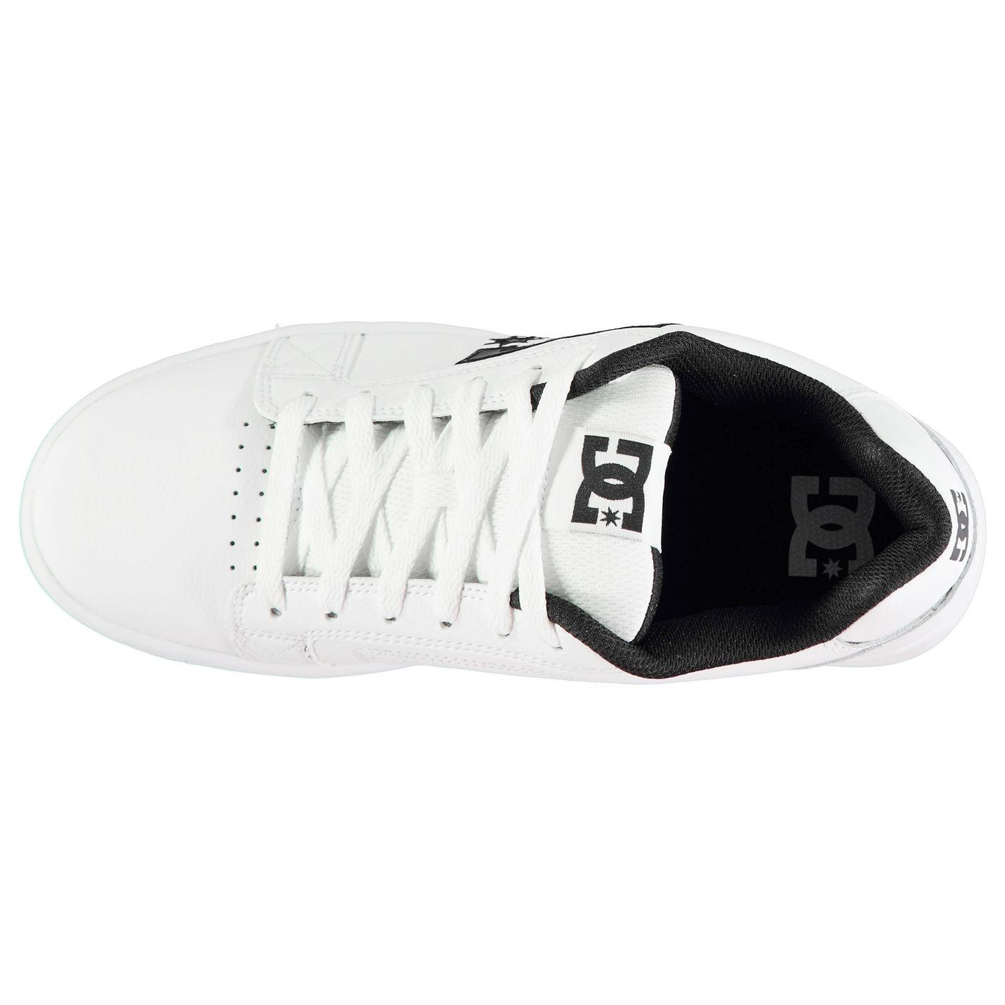 Zapatillas Dc Serial Graffik Para hombres Caballeros Zapatos de Skate Cordones atados acolchado de tobillo