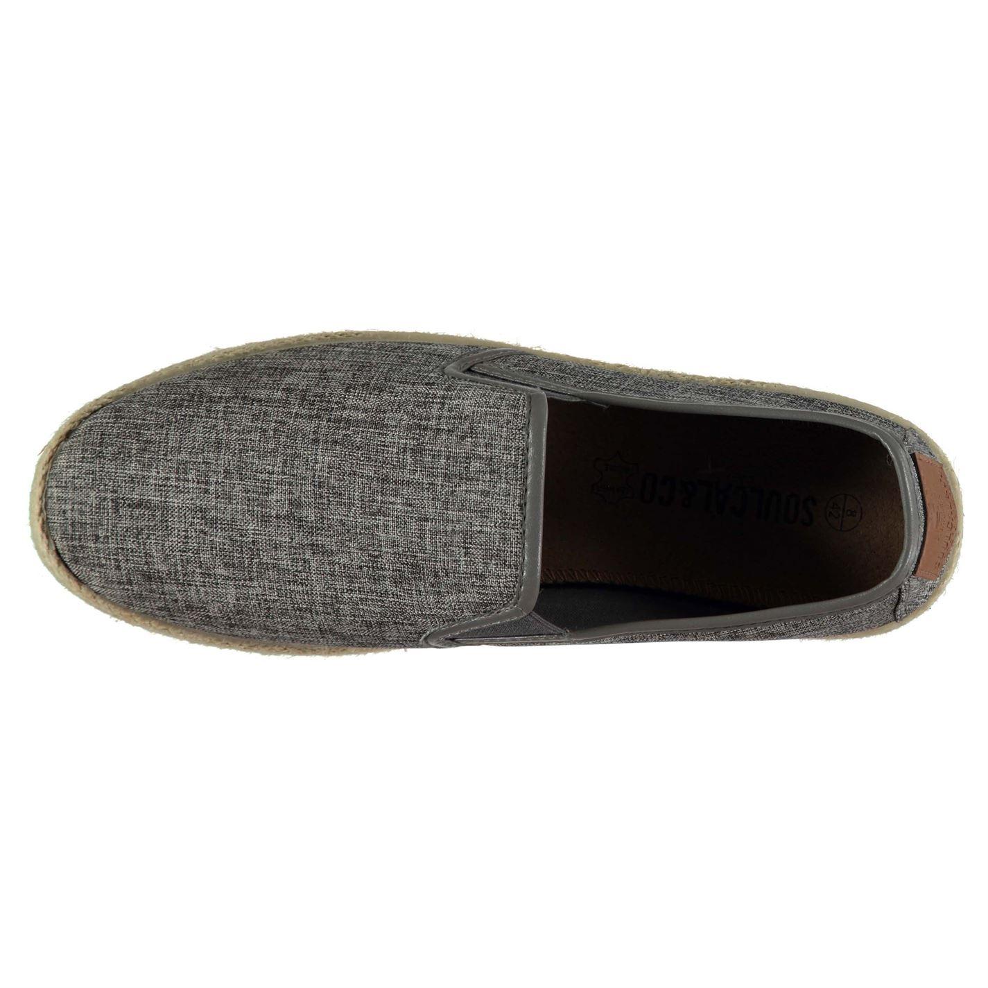 Soulcal Mesh Escarpins Chaussures Homme Gents Toile À Enfiler Confort Quotidien