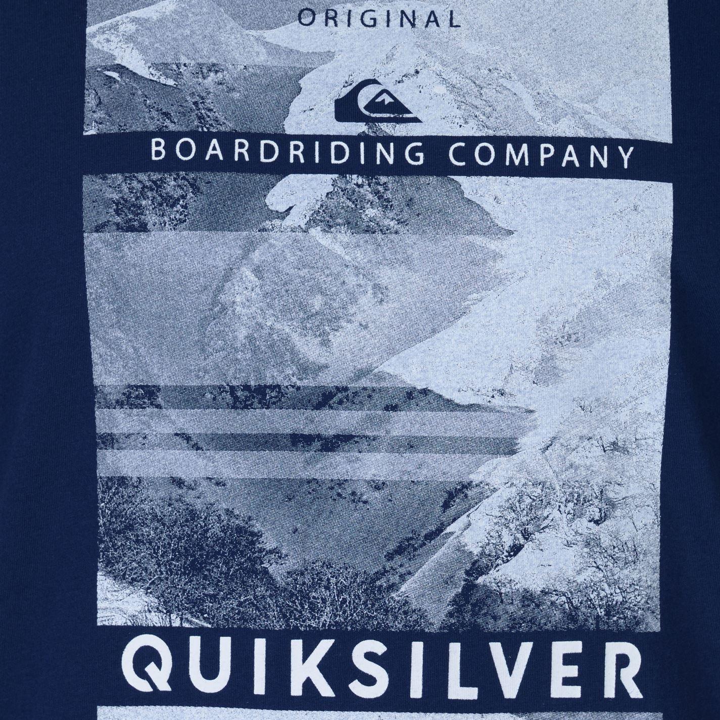Quiksilver Magic Valley T Shirt Mens Gents Crew Neck Tee Top Short Sleeve
