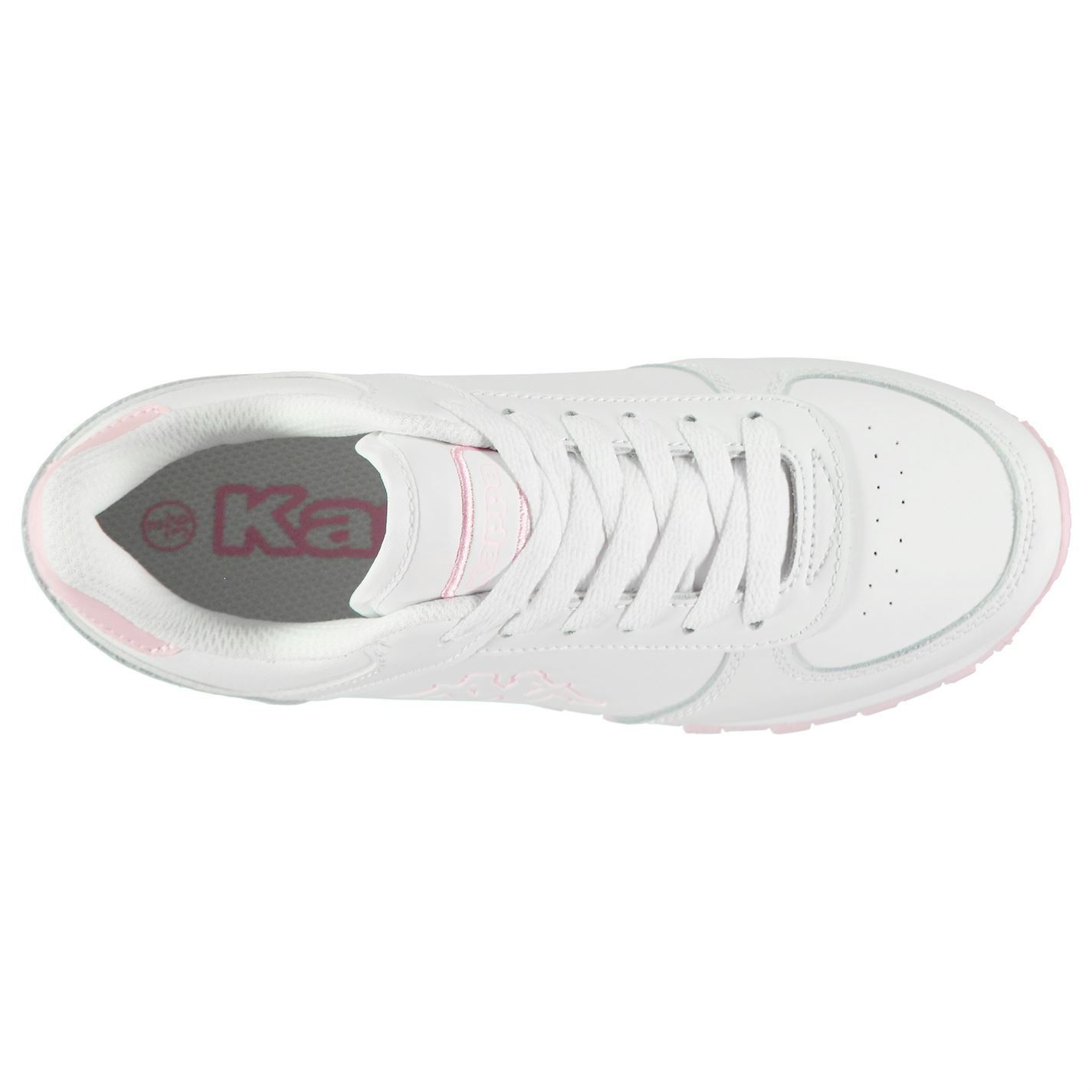 Kappa Persaro DLX Youngster Sneakers Childrens Low Laces Fastened Leather Upper
