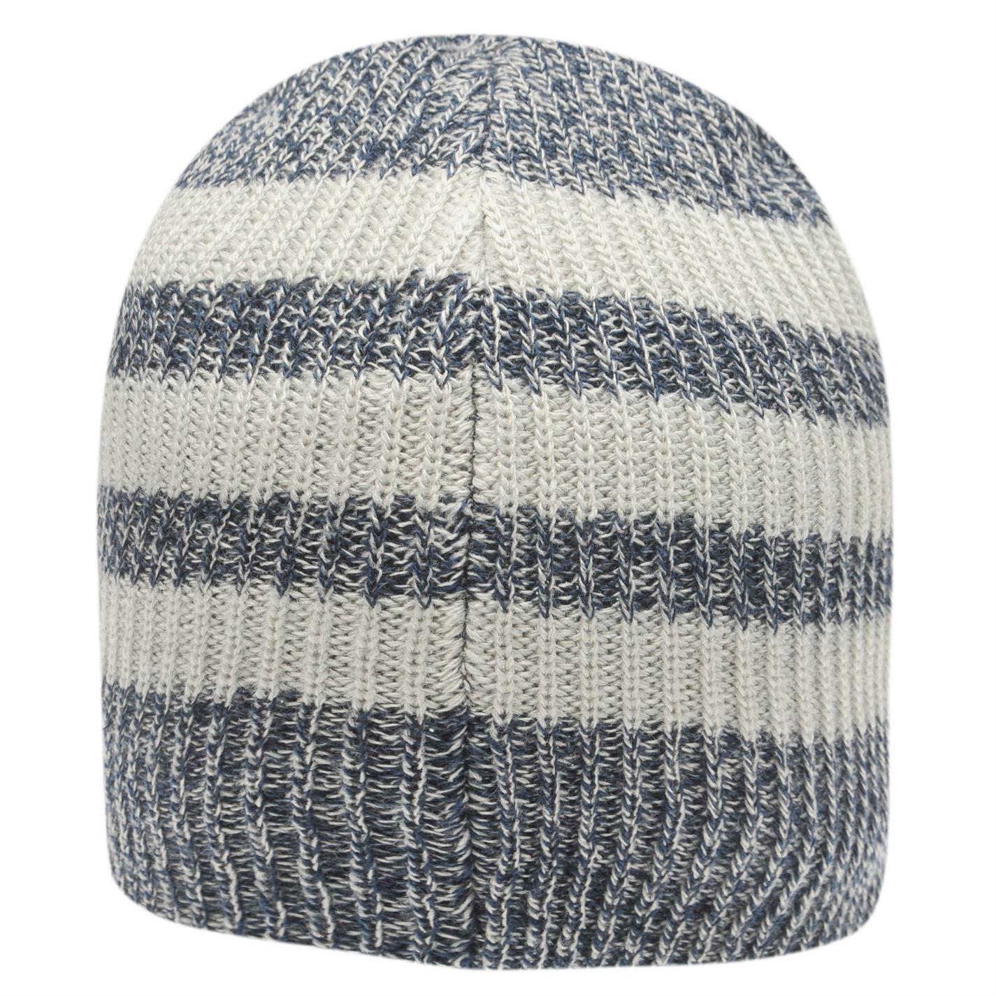 adidas Mens Three Stripe Beanie Knitted
