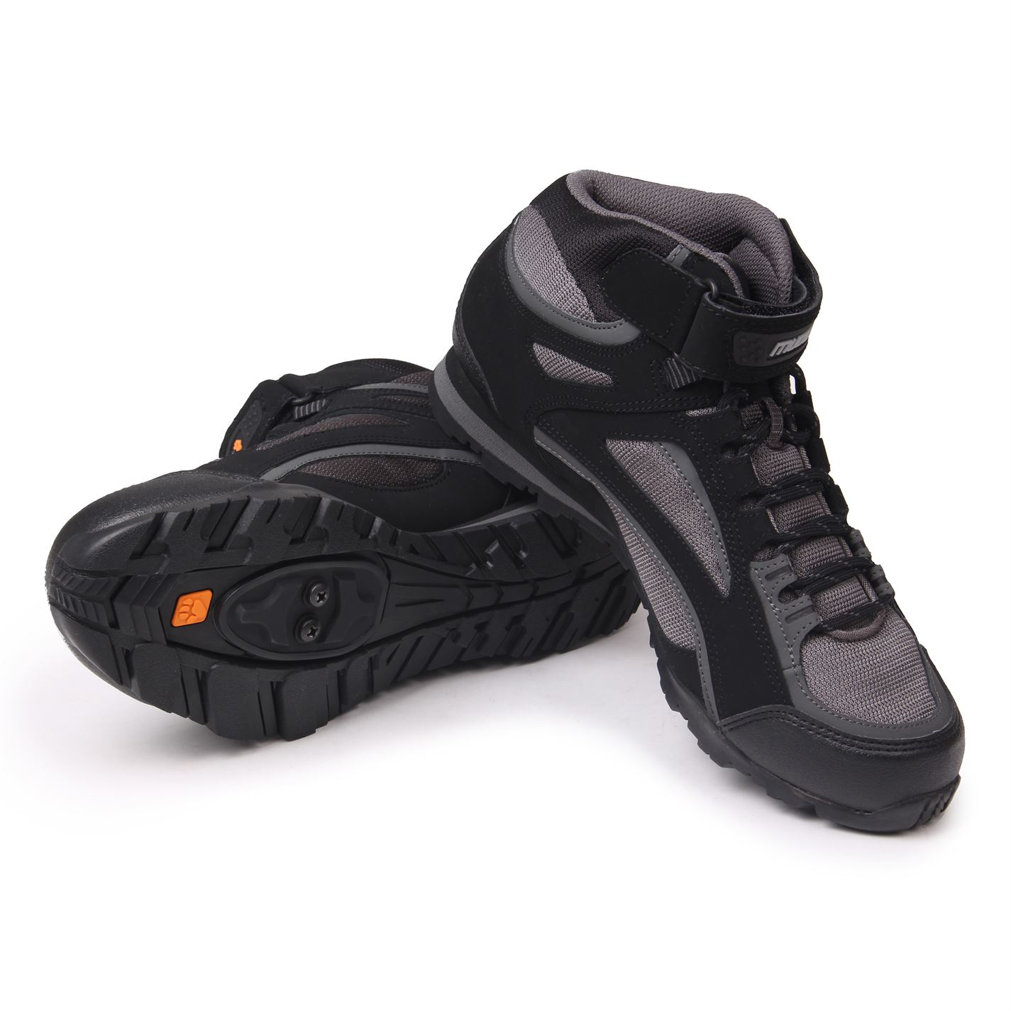 Muddyfox TOUR 100 Mid Cycling Full Front Sport Cycle Trainers Pumps Mens