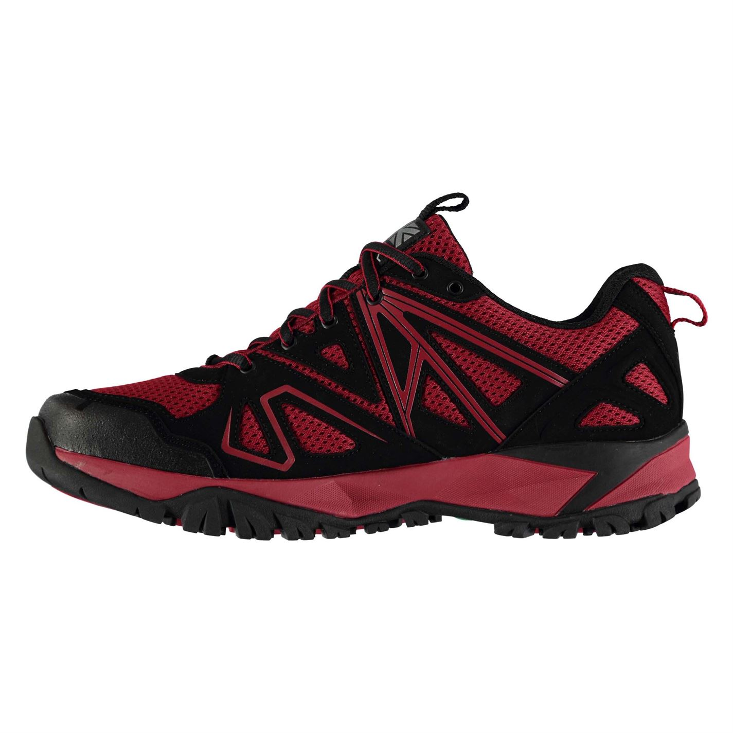 Karrimor Mens Surge Walking Shoes Non Waterproof Lace Up Breathable Lightweight