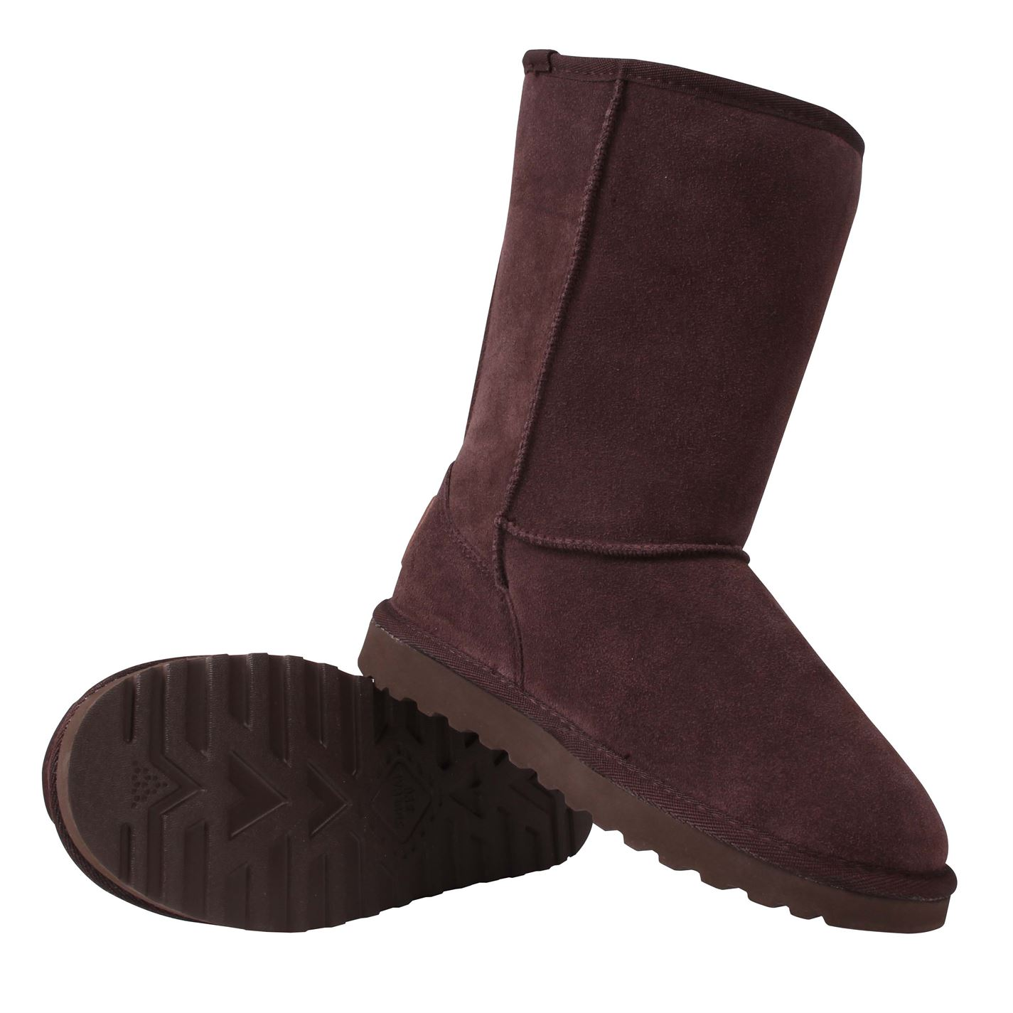 SoulCal Womens Tahoe Snug Ankle Boots Faux Fur Trim Suede Casual Winter Shoes