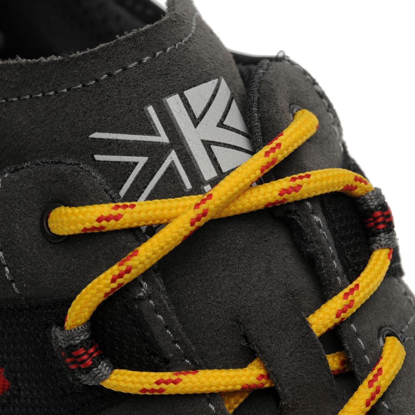 Karrimor Hot Crag Walking Shoes Mens Gents non Hydrofuge Lacets fixé
