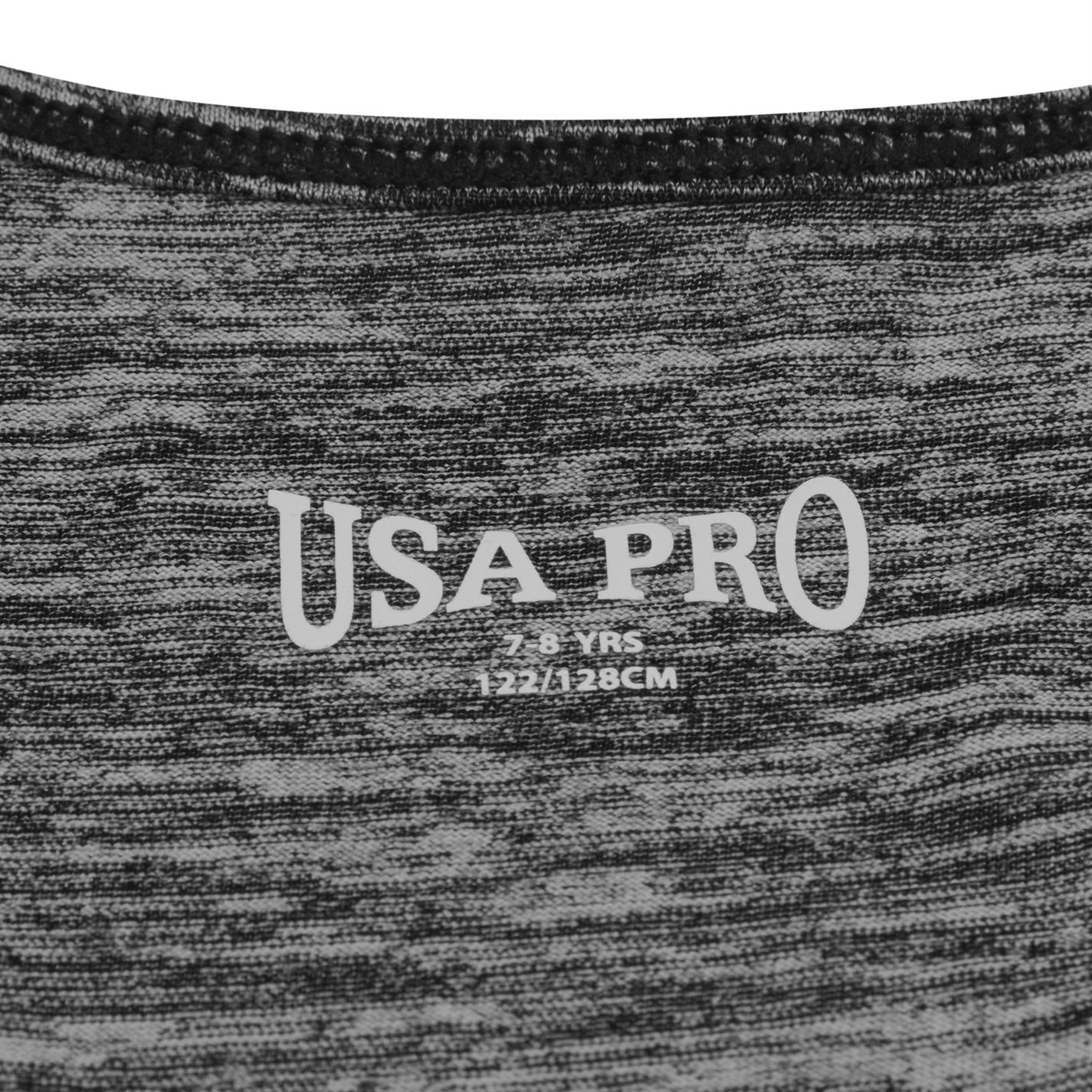 USA Pro Childrens Boyfriend Tank Top Girls Exercising Sport Casual Clothing