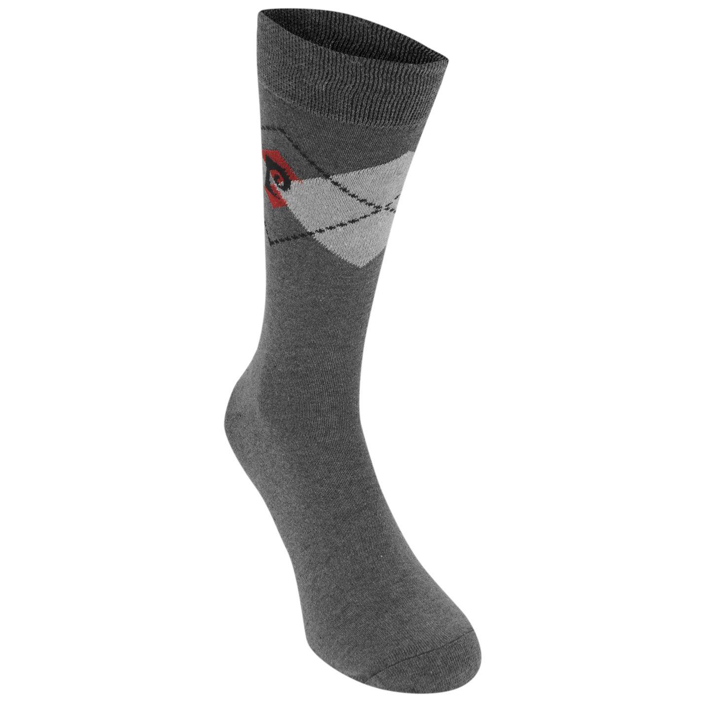 Pierre automobiledin 3 Pack Fashion Socks Mens Gents ras du cou Pulls