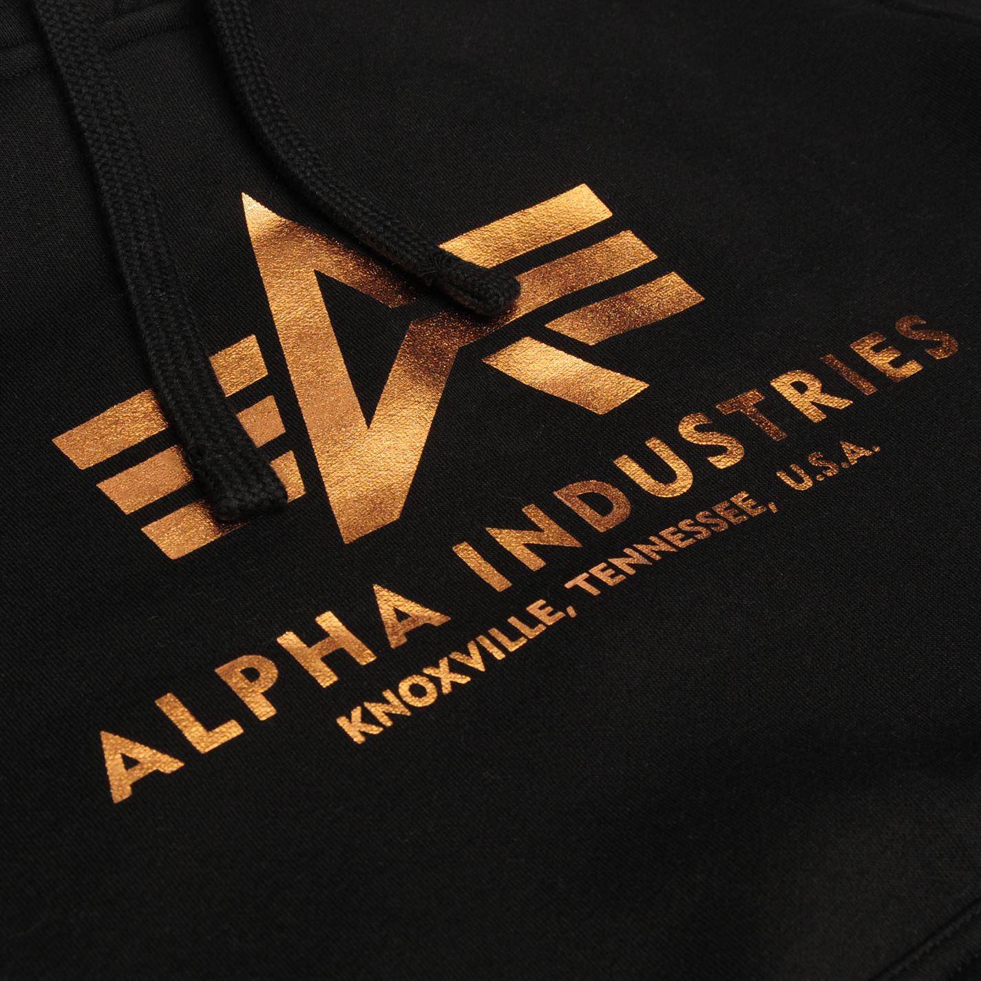 Homme Alpha Industries Basic Sweat à capuche OTH à manches longues NOUVEAU