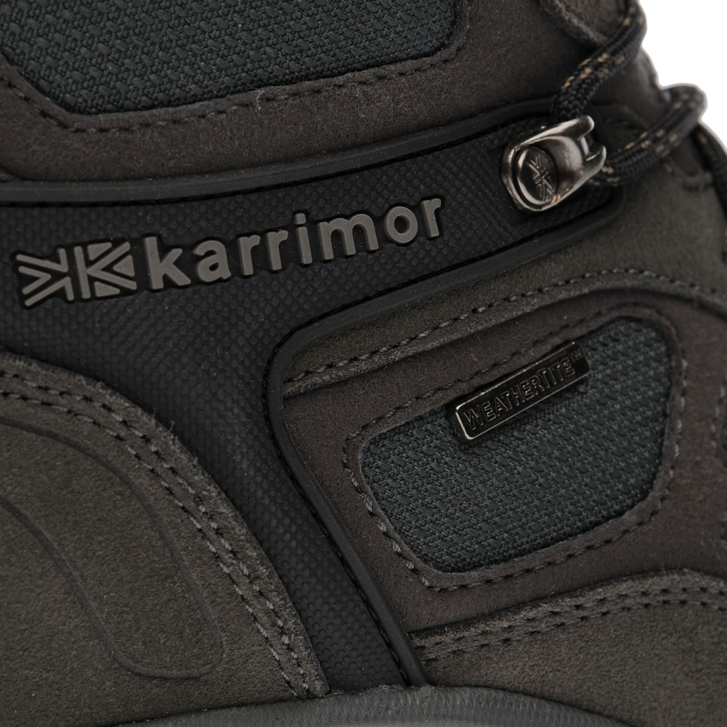 Karrimor Aspen Mi Walking Boots Homme Gents Lacets fixé Hydrofuge