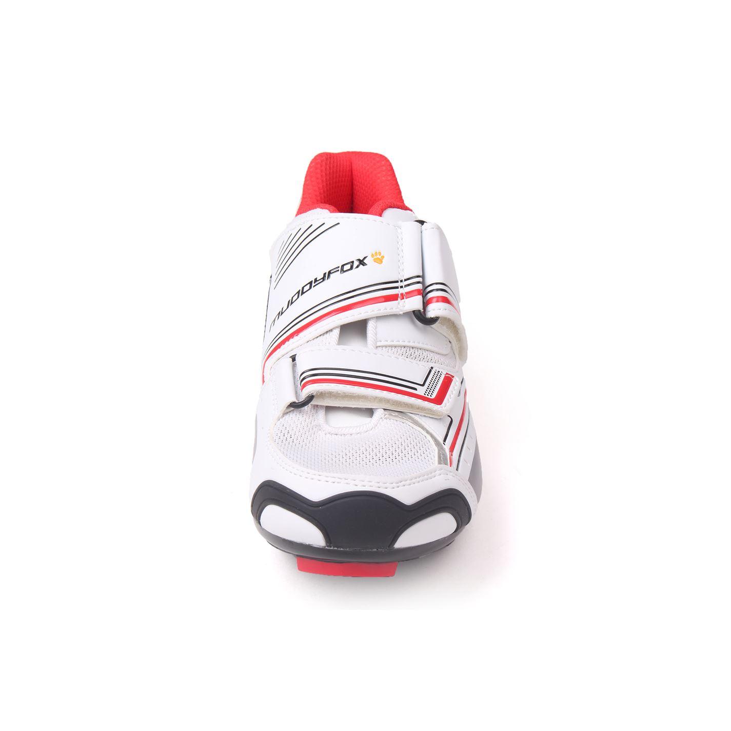 Muddyfox Kids RBS100 Junior Cycling Cushioned Shoes Cycle Trainers Mesh Panels