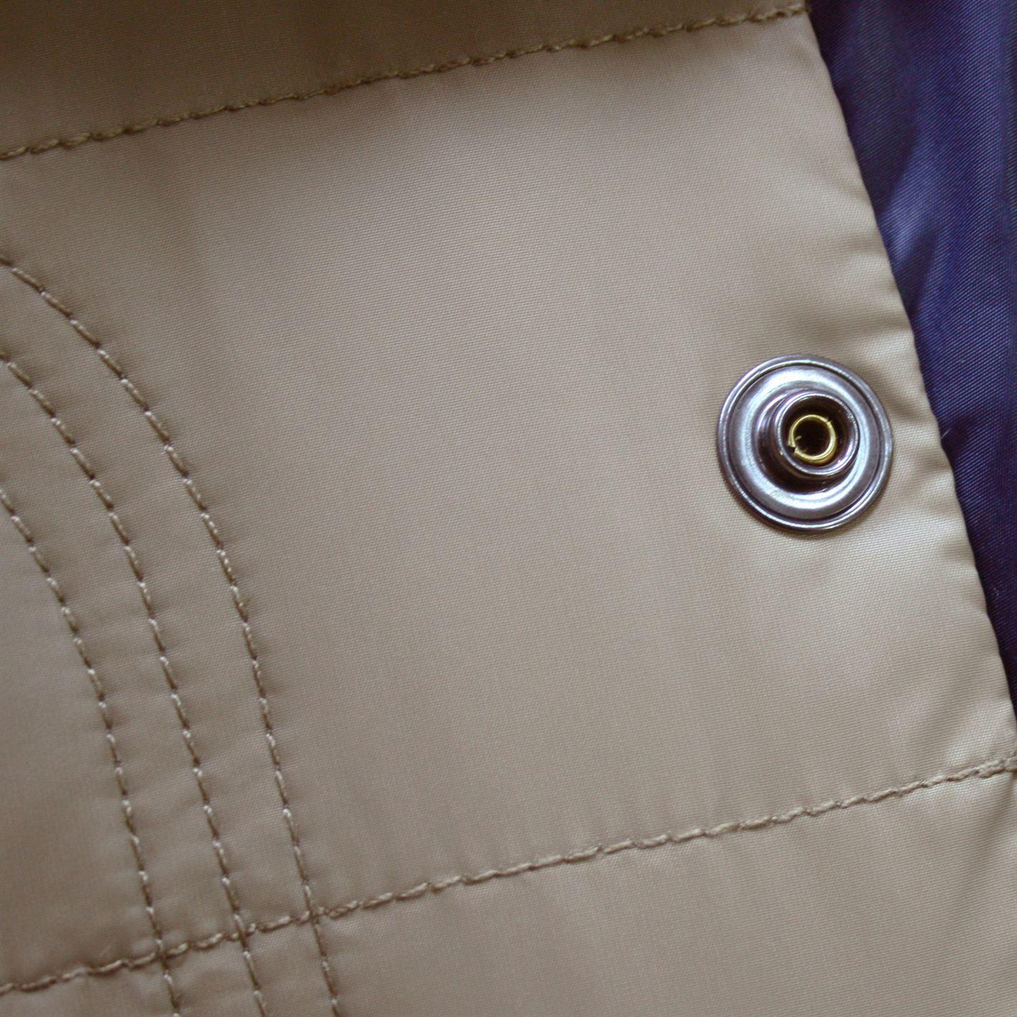 Lee Cooper Mens Essential Down Jacket Coat Top Long Sleeve Lightweight Block