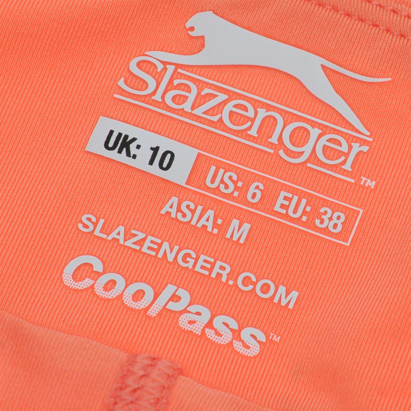 Slazenger Womens Court Skort Performance Breathable Mesh Stretch Colour Block