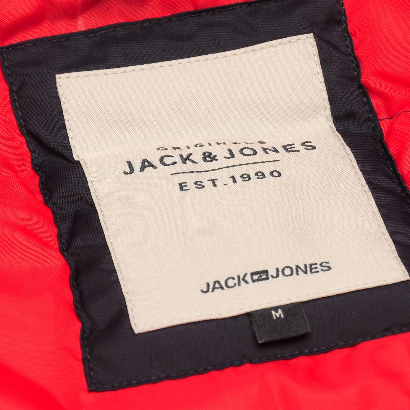 Mens Jack and Jones Original Bend Gilet Light Quilt Sleeveless New