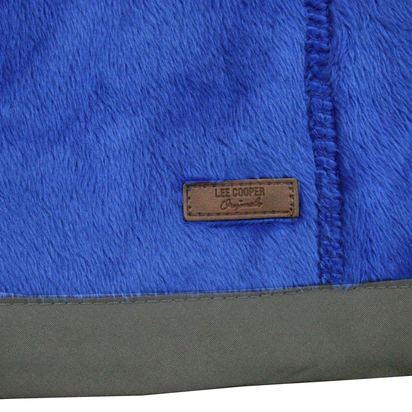 Lee-Cooper-Mens-Teddy-Fleece-Jacket-Full-Zip-Top-Coat-Sweatshirt-Jumper-Warm thumbnail 23
