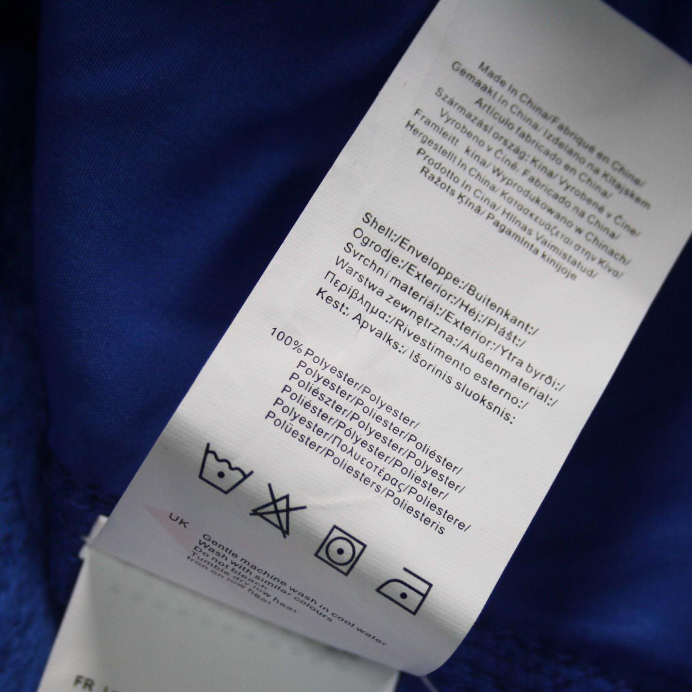 Lee Cooper Teddy Fleece Jacket Mens Gents Zipped Top Coat Sweatshirt Jumper Zip