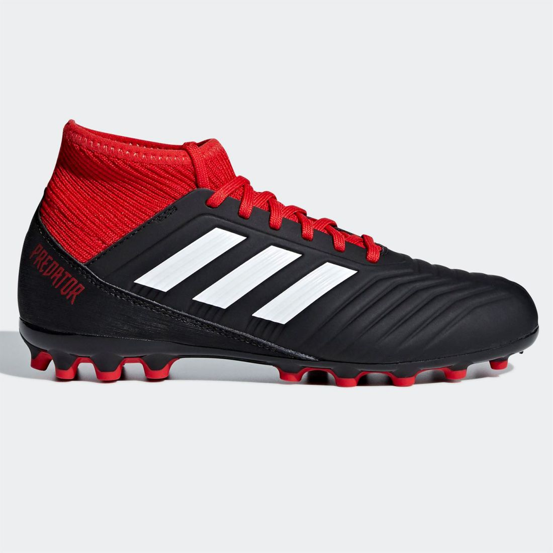 4441f2c1 adidas Kids Predator 18.3 Childs AG Football Boots Firm Ground Lace Up Studs