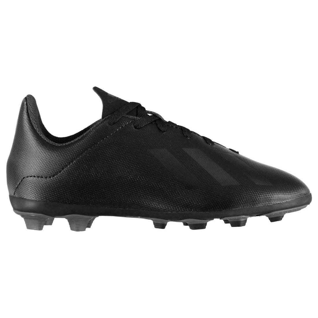 bda6958b7 adidas Kids Boys X 18.4 Childs FG Football Boots Firm Ground Lace Up ...