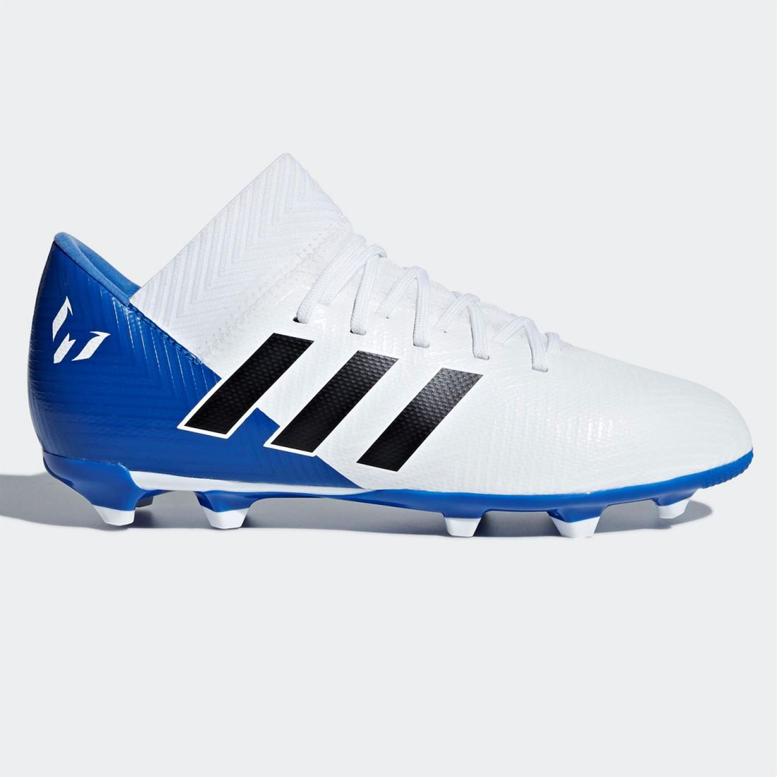 outlet store b9063 f5c8a adidas Kids Boys Nemeziz Messi 18.3 Childs FG Football Boots Firm Ground  Lace Up