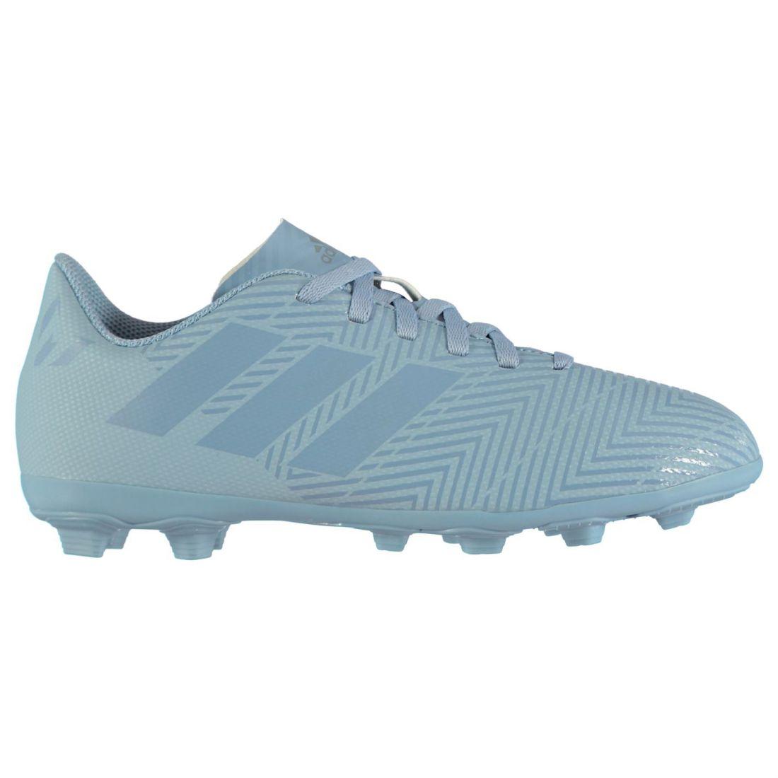 5c1689ceb Adidas Nemziz Messi 18.4 FG Childrens Football Boots Firm Ground Laces  Fastened
