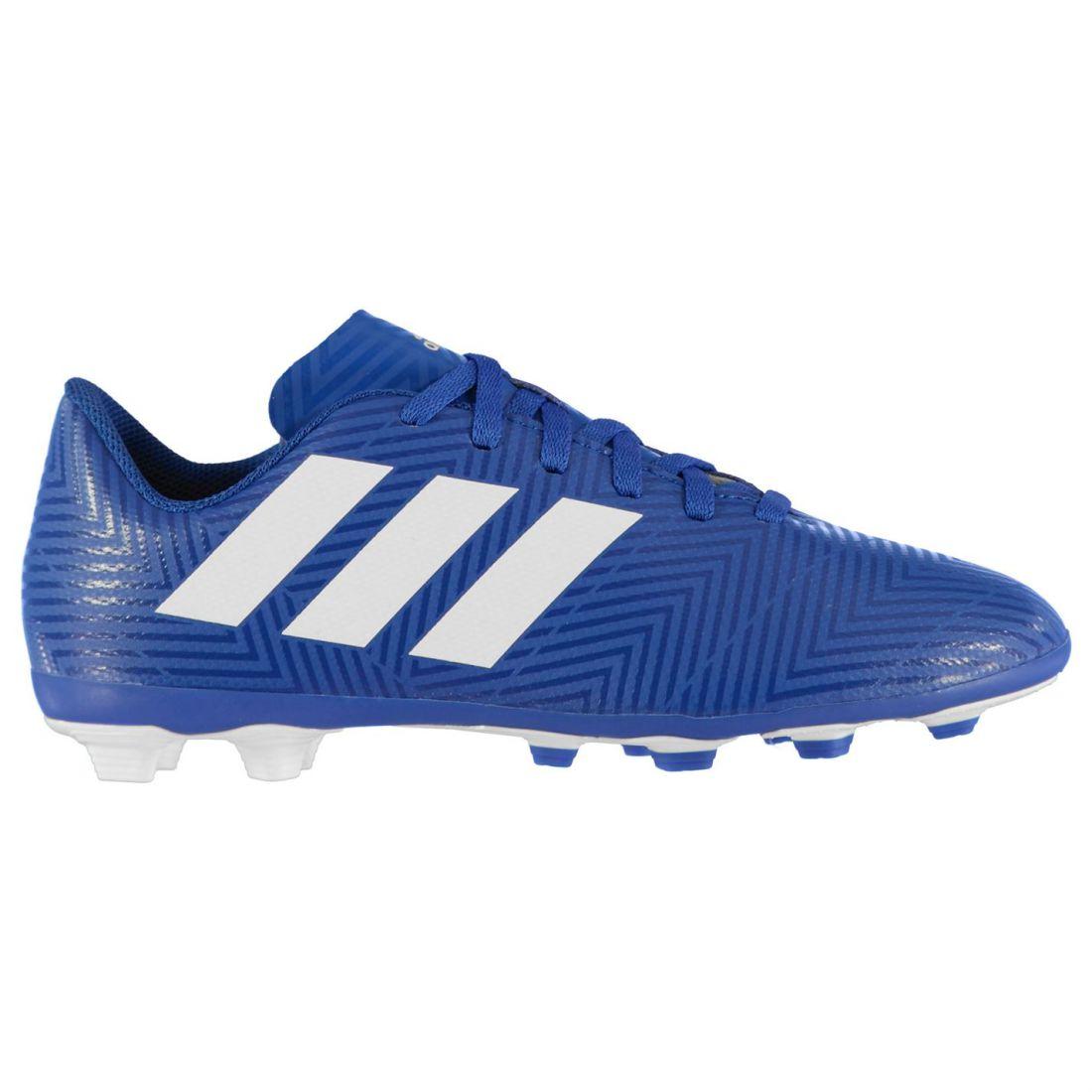 9fbb9ef4c Adidas Kids Boys Nemeziz 18.4 FG Child Football Boots Firm Ground Lace Up  Studs