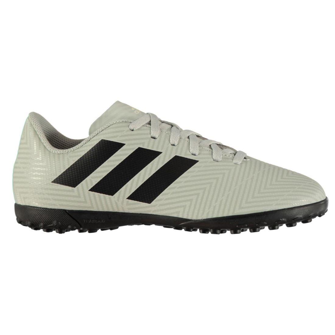 78468d73 Adidas Kids Boys Nemeziz Tango 18.4 Astro Turf Trainers Football Boots Lace  Up