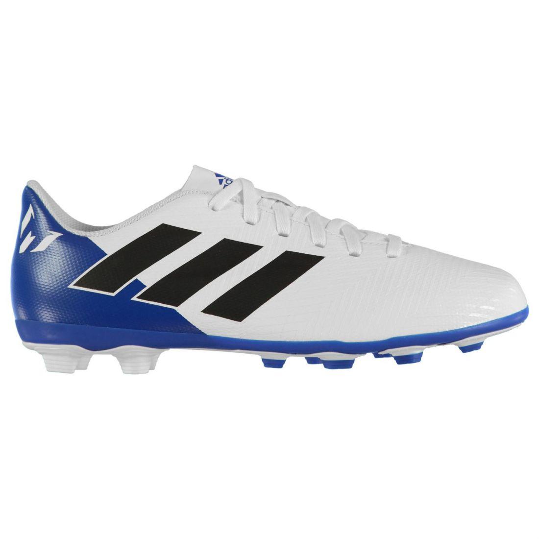 1071ca5e1 Adidas Kids Boys Nemeziz Messi 18.4 Junior FG Football Boots Firm ...