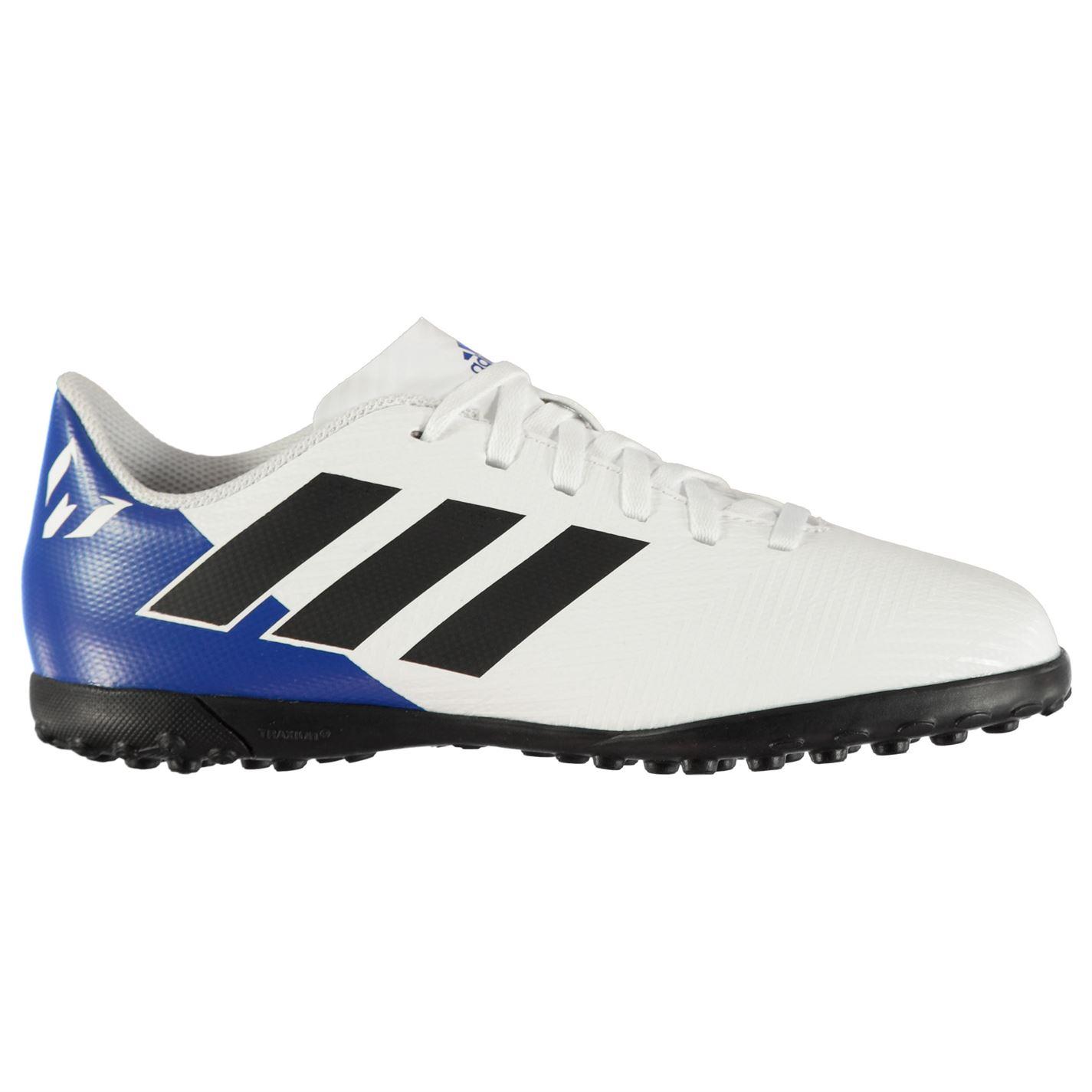 3fa54fd18 Adidas Kids Nemeziz Messi Tango 18.4 Junior Astro Turf Trainers Football  Boots