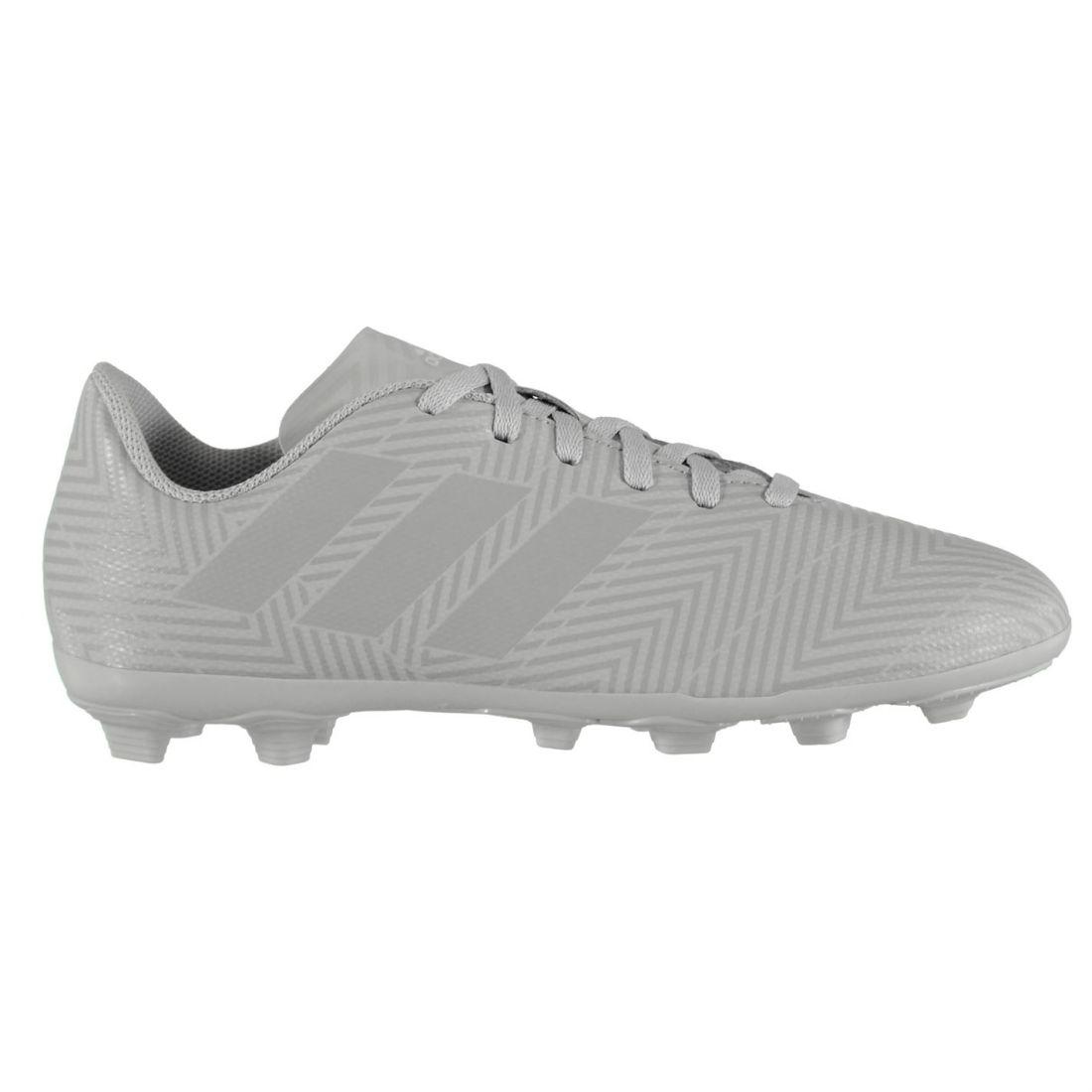 b89857889 Adidas Kids Boys Nemziz 18.4 FG Junior Football Boots Firm Ground ...