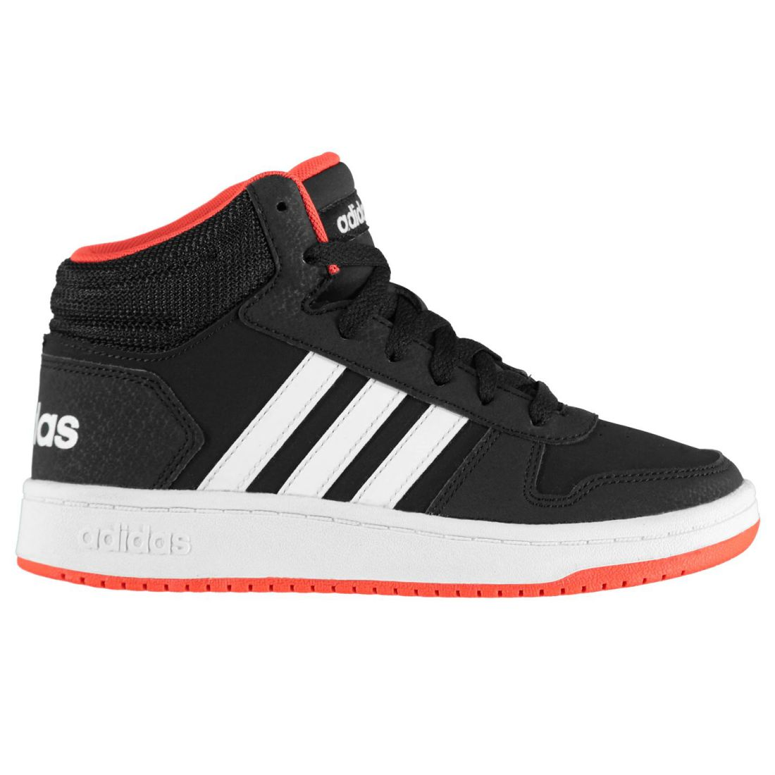 1fe060385b3 adidas Hoops Mid 2.0 High Top Sneakers Youngster Boys Laces Fastened ...