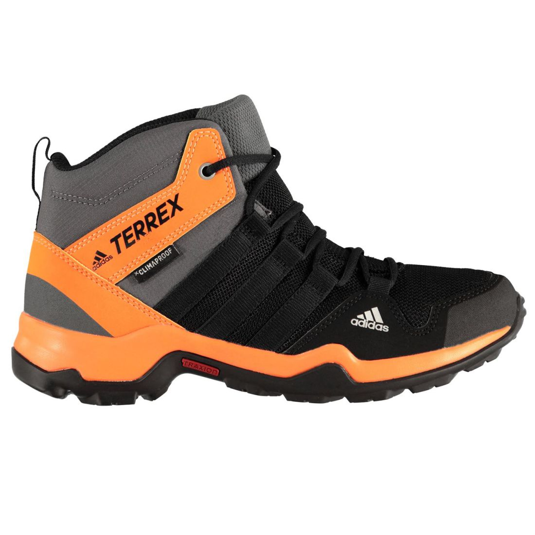 75bb3fdcd85 adidas TERREX AX2R Mid Youngster Walking Boots Childrens Laces ...