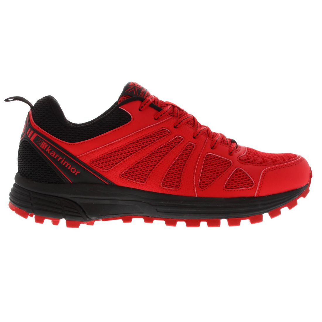 Karrimor-Men-Caracal-Trail-Running-Shoes-Trainers-Lace-Up-Breathable-Mesh-Panels thumbnail 3