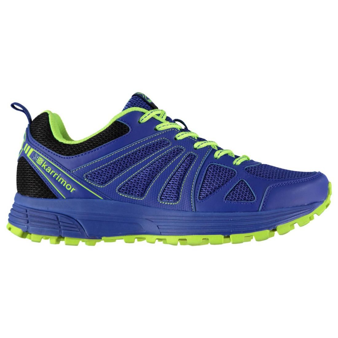 Karrimor-Men-Caracal-Trail-Running-Shoes-Trainers-Lace-Up-Breathable-Mesh-Panels thumbnail 4