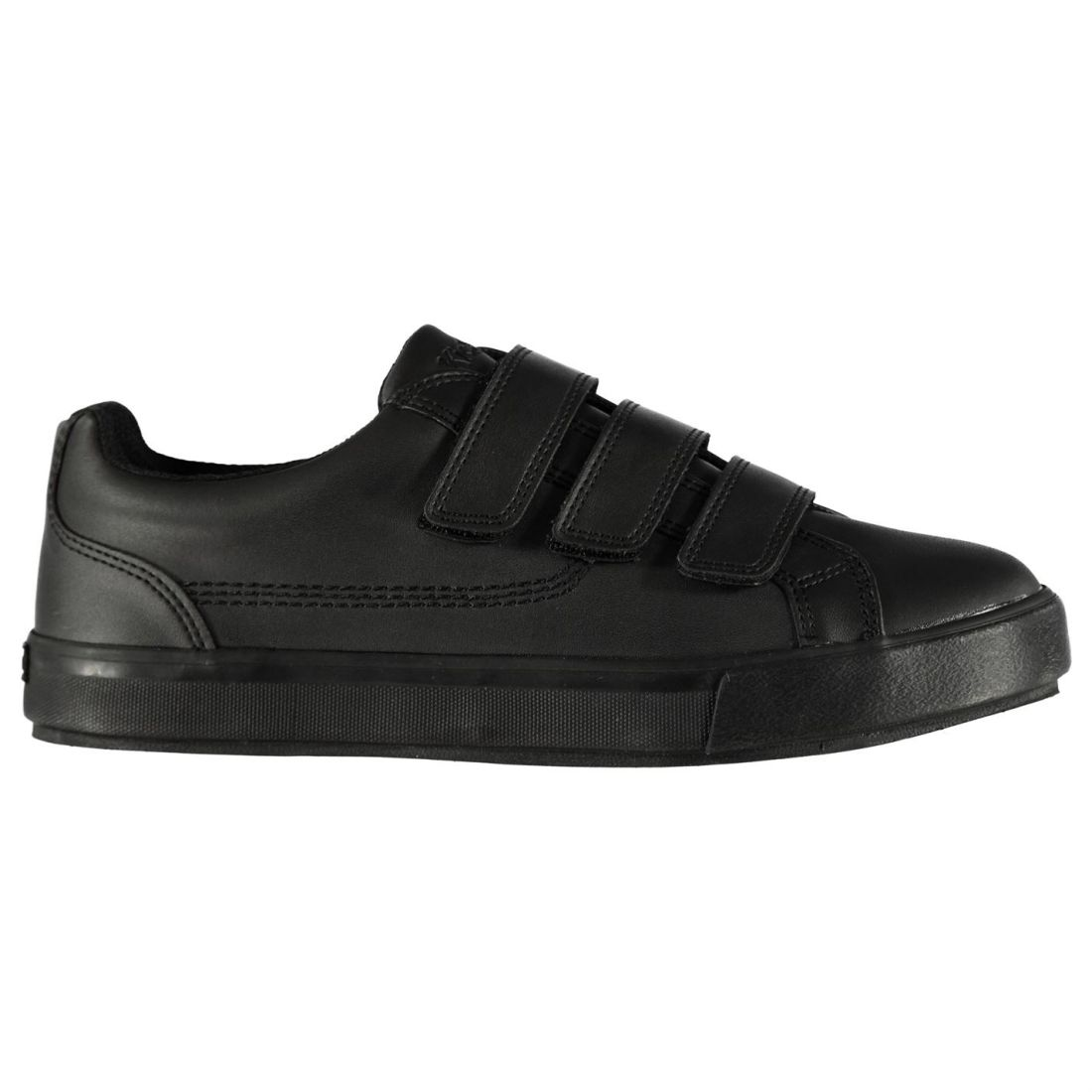 bd50cd720f Details about Kickers Mens Tovni Trainers Low Padded Tongue Touch and Close