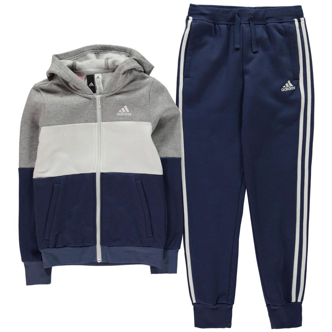 adidas Kids Girls YG Tracksuit Junior Top  c849744abfc