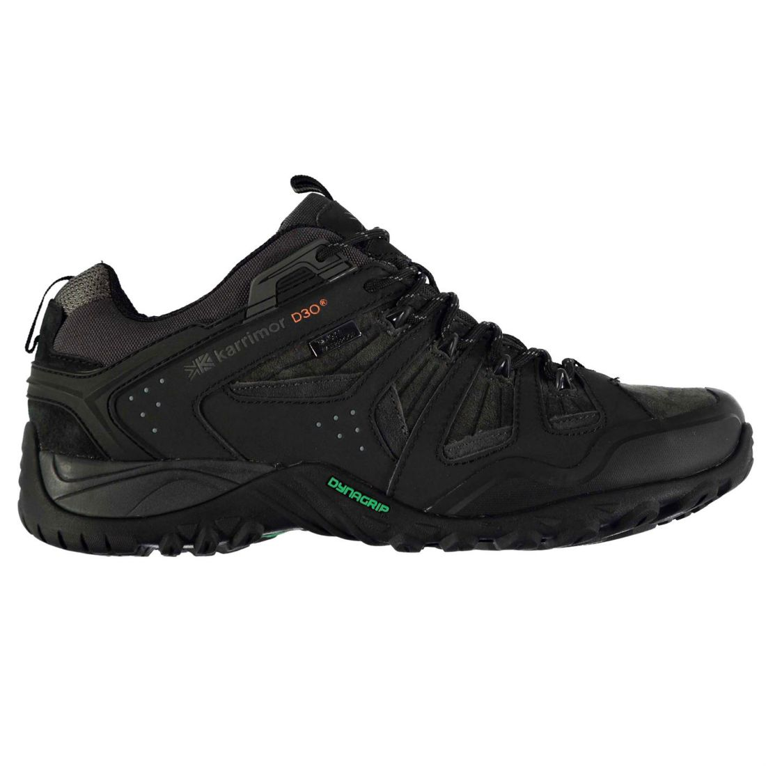 b3ef72a7730 Details about Karrimor Mens Arete Walking Shoes Dynagrip Sole Hiking  Outdoor Lace Up Footwear