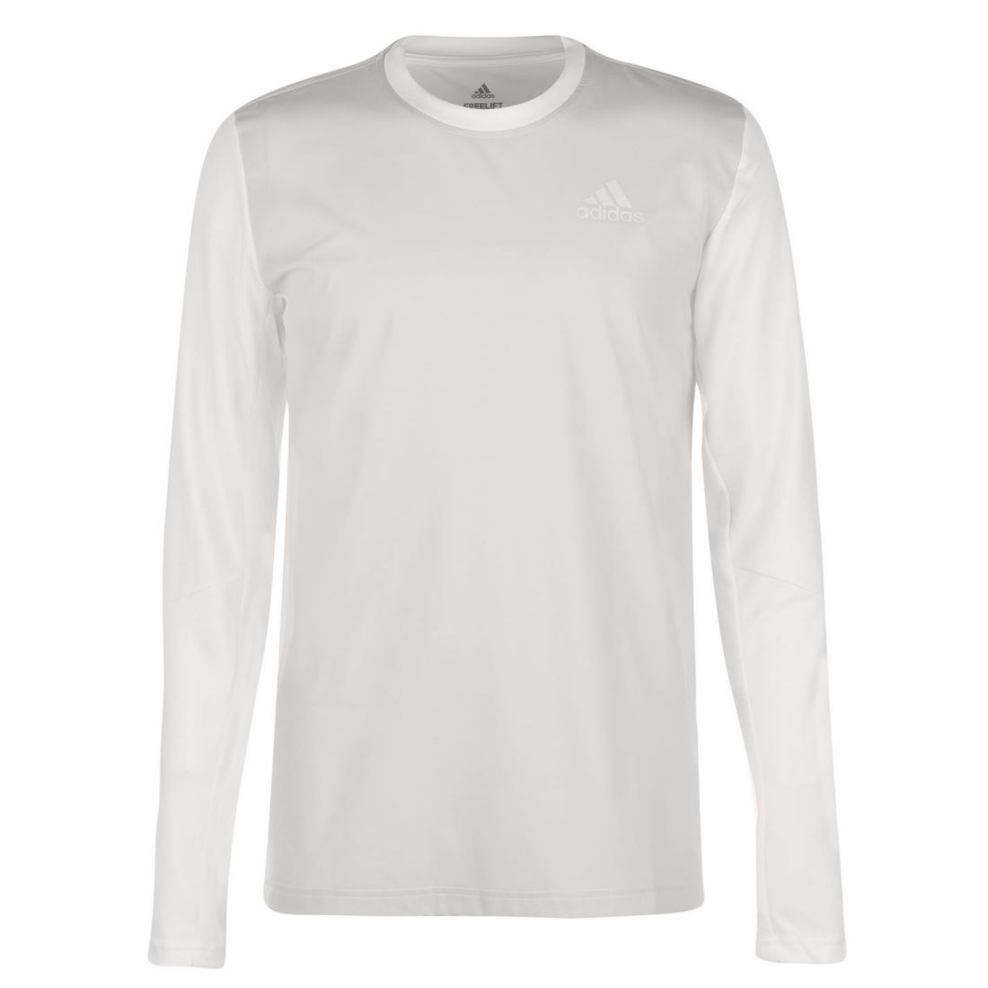 Adidas Freelift Full Length Sleeve T Shirt Mens Gents Performance Tee Top Crew