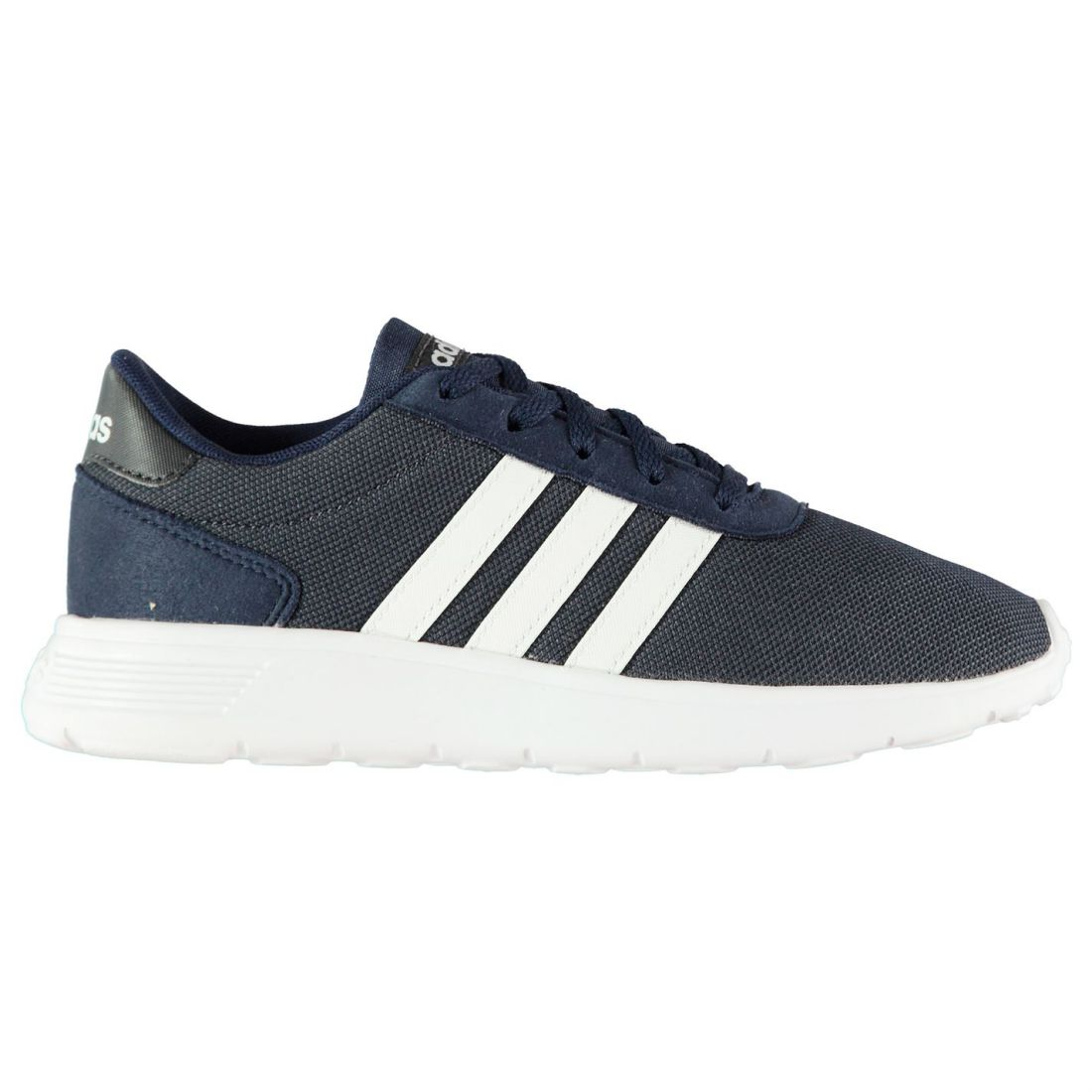 Adidas Kids Boys Lite Racer Junior Trainers Runners Lace Up Comfortable Fit