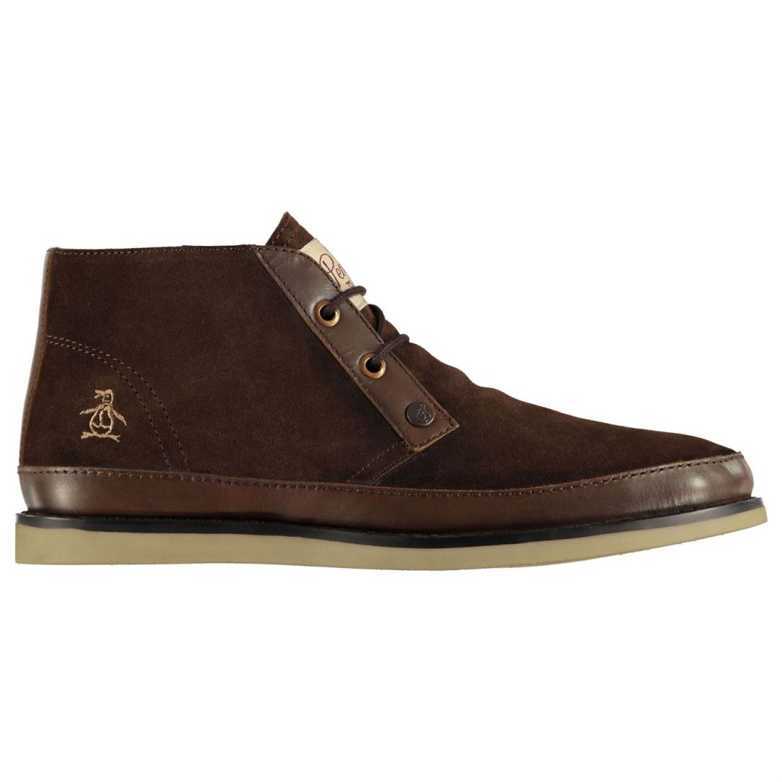 Nice Boys Original Penguin Navy Shoes Suede Lace Up Desert Boots Uk 4 Kids' Clothing, Shoes & Accs