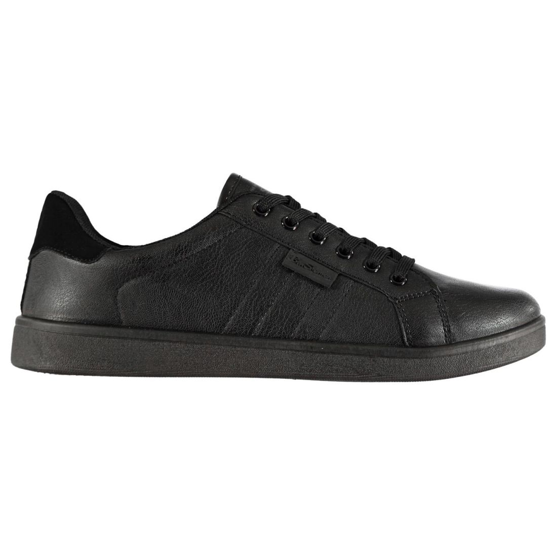 Ben Sherman Malice Sneakers Mens Gents Low Laces Fastened Padded Ankle Collar