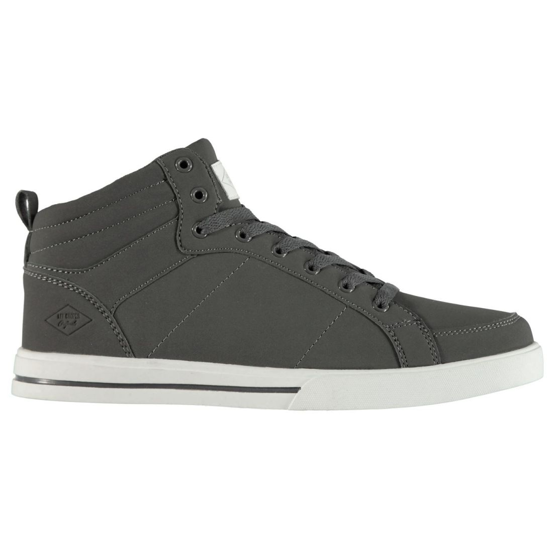 Lee Cooper Akron Hi Top Mens Gents High Laces Fastened Padded Ankle Collar