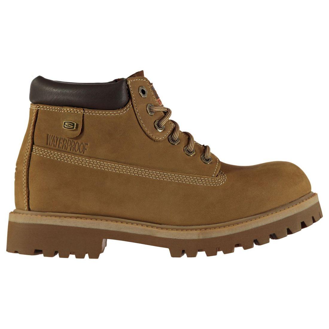 días Veredicto Usa Sujetados Caballeros Skechers Botas Zapatos Agua Cordones Desierto Todos los Hombres pxwq00d5B