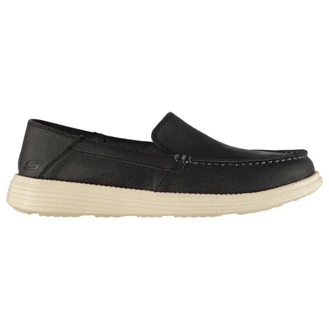 Skechers Status Breson Everyday Shoes Mens Gents Slip On