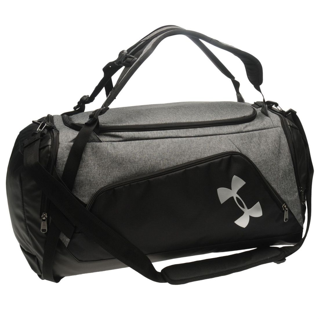 5674f3c726 Details about Under Armour Unisex Contain Duo Duffel Bag Holdall  Lightweight Water Repellent