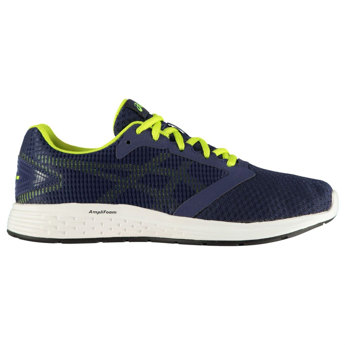 Asics Patriot 10 Sneakers Mens Gents Runners Laces Fastened Mesh Upper