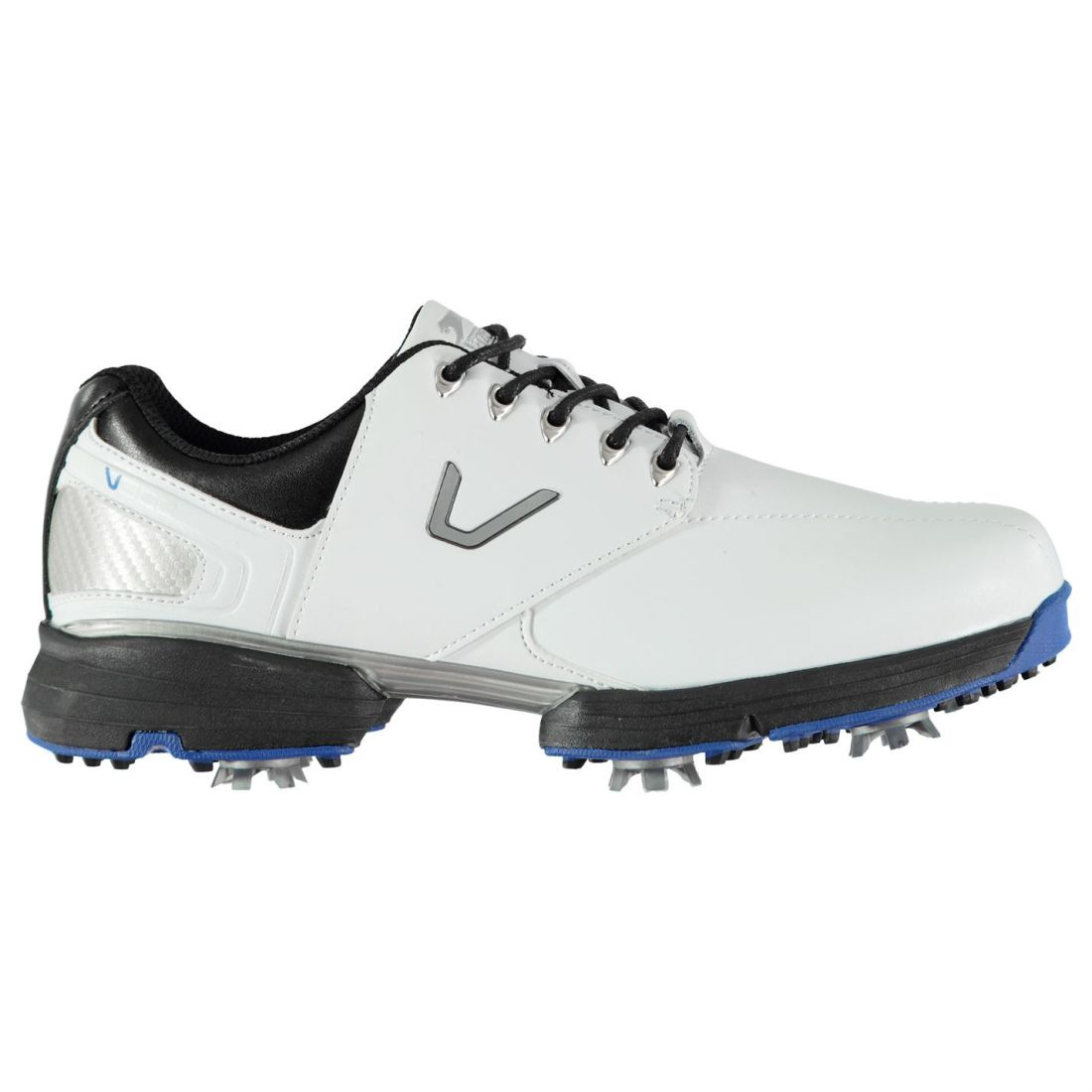 6add4eab1a2 Image is loading Slazenger-V300-Golf-Shoes-Mens-Gents-Spiked-Laces-