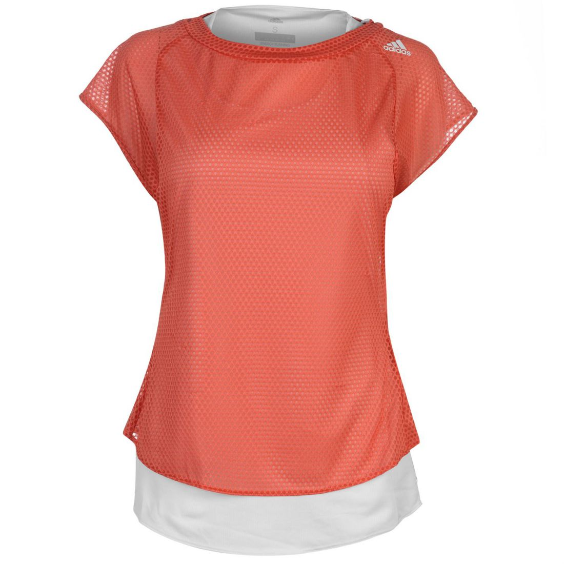 Performance T manches Tko Top pour femmes Scarletblanc manches T Adidas shirt à courtes shirt à courtes Aqc45jL3RS