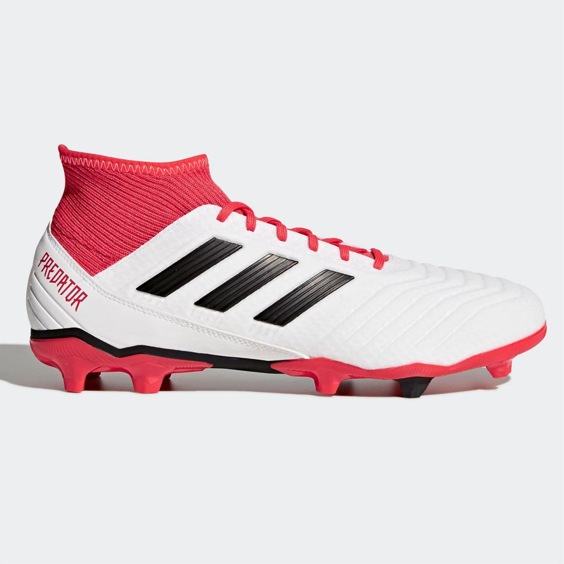 Adidas Mens Predator 18.3 FG Football Boots Firm Ground Lace Up Mesh Upper Studs